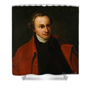 Patrick Henry, American Patriot Shower Curtain by Science Source