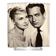 Paul Newman And Joanne Woodward In The Long Hot Summer 1958 Shower Curtain