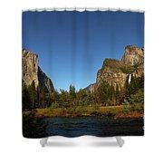 Peaceful Merced River Shower Curtain