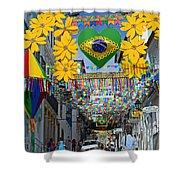 Pelourinho - The Historic Center Of Salvador Shower Curtain
