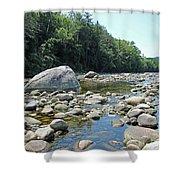Pemmigewasset River Shower Curtain