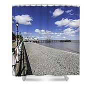 Penarth Pier 4 Shower Curtain