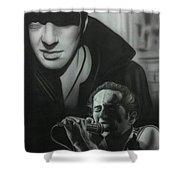 People- Joe Strummer Shower Curtain
