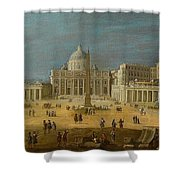 Peters Basilica Shower Curtain