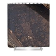 Petroglyphs Shower Curtain