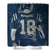Peyton Manning Colts 2 Shower Curtain