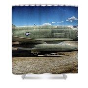 Phantom II Shower Curtain