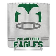 Philadelphia Eagles Vintage Art Shower Curtain