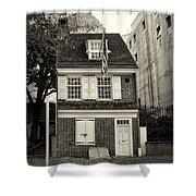 Philadelphia - The Betsy Ross House Shower Curtain