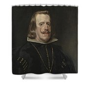 Philip Iv Of Spain Shower Curtain