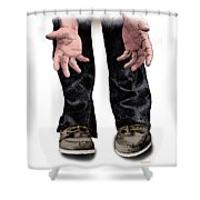 Pick Me Up Daddy Shower Curtain