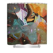 Pieces Of Life Shower Curtain