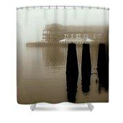 Pier 17 Shower Curtain