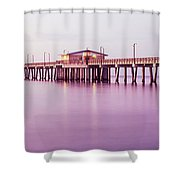 Pier In The Sea, Gulf State Park Pier Shower Curtain