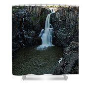 Pigeon River Falls Shower Curtain