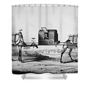 Pilgrimage To Mecca Shower Curtain