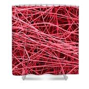 Pink Fiberglass Insulation, Sem Shower Curtain