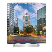 Pittsburgh 16 Shower Curtain by Emmanuel Panagiotakis