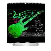 Play 3 Shower Curtain