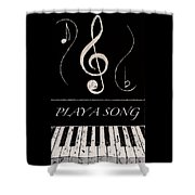 Play A Song Shower Curtain