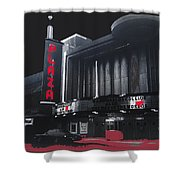 Plaza Theater Us Mexico Border Town Nuevo Laredo Nuevo Leon Mexico Collage 1977-2012 Shower Curtain