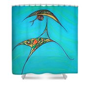 Pneuma Shower Curtain