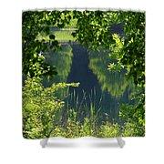 Pocket Lake Shower Curtain