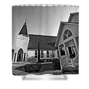 Point Clear Alabama St. Francis Church Shower Curtain