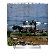 Point Loma Lighthouse 2 Shower Curtain