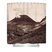 Pompeii, Mt Vesuvius Shower Curtain