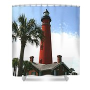 Ponce Lighthouse Shower Curtain