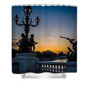 Pont Alexandre IIi Shower Curtain