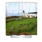 Port Clyde Shower Curtain