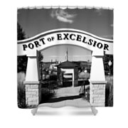 Port Of Excelsior Shower Curtain