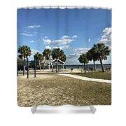 Port Richey, Florida Shower Curtain