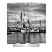 Port Royal Shrimp Boats Shower Curtain
