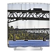 Portland Port104 Shower Curtain