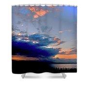 Portobello Clouds Shower Curtain