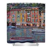 Portofino Al Crepuscolo Shower Curtain