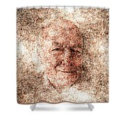 Portrait Of A Father Shower Curtain
