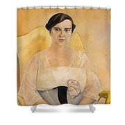 Portrait Of A Lady Boris Grigoriev Shower Curtain