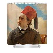 Portrait Of A Scholar Shower Curtain
