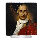 Portrait Of A Young Nobleman Shower Curtain