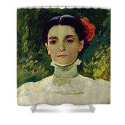 Portrait Of Maggie Wilson Shower Curtain