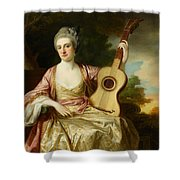 Portrait Of Maria Walpole Shower Curtain