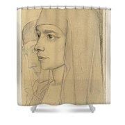 Portrait Of Treesje Westermann, Mother Teresa Huf Of Bethany, Jan Toorop, 1927 Shower Curtain