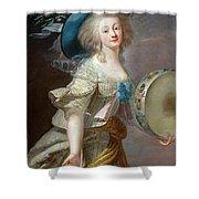 Portrait Une Danseuse Au Tambourin Lisabeth Louise Vige Le Brun Shower Curtain