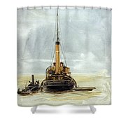 Portsmouth Shower Curtain