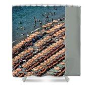 Positano Beach Shower Curtain