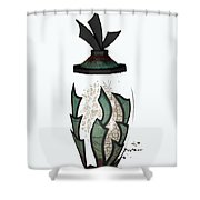 Pot Shower Curtain